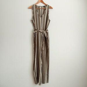 NWOT DREW Linen Blend Jumpsuit Size Small